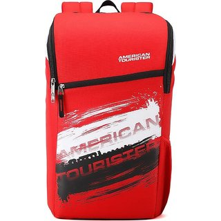 American Tourister Zest Sch Bag 24 L Backpack Red