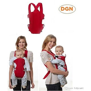 cd506d75312 Baby Safety Carrier Infant Baby Kids Front and Back Carrier Backpack  Newborn Hipseat Wrap Sling Bag Red