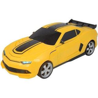 Ratna international Transformer remote car (Yellow)
