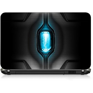 VI Collections BLUE POWER CAPSULE pvc Laptop Decal 15.6