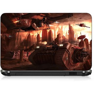 VI Collections ANIMATED TANKS pvc Laptop Decal 15.6