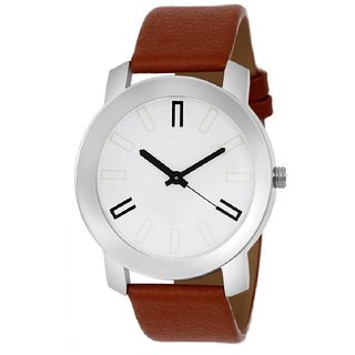 1d3e5e9b1065be Buy SCK by Vivah Mart Round Dial Brown Leather Strap Analog Watch ...