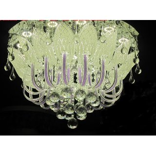 jhoomar ceiling light decorative chandelier with three color,mp3,free wall lamp