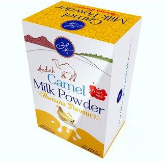 Aadvik Camel Milk Powder Banana Flavour 150 gms.  30g X 5 Sachet Freeze Dried