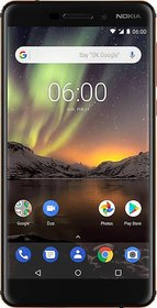 Unboxed Nokia 6.1 (3GB32GB) Black/Copper With 6 Months Brand Warranty