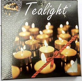 Mukta Enterprise Tea Light Candles ( Pack Of 50 )