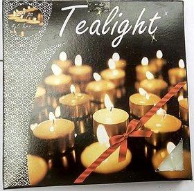 Mukta Enterprise Tea Light Candles ( Pack Of 50 )