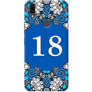FurnishFantasy Back Cover for Vivo V9 - Design ID - 1407