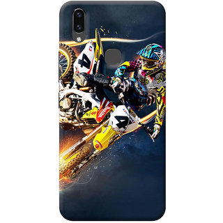 FurnishFantasy Back Cover for Vivo V9 Youth - Design ID - 0600