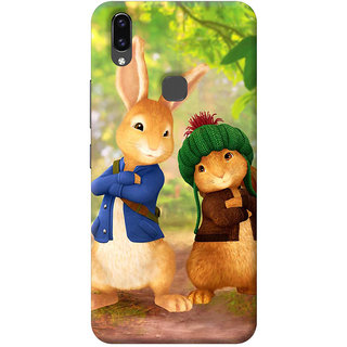 FurnishFantasy Back Cover for Vivo V9 Youth - Design ID - 0726