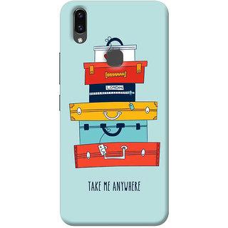 FurnishFantasy Back Cover for Vivo V9 Youth - Design ID - 1148