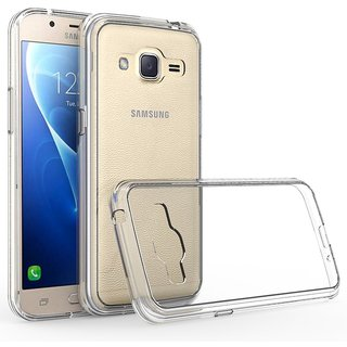 new concept 259c8 2b3dc Transparent Soft Silicone Protective Slim Back Case Cover For Samsung  Galaxy On5 Pro (TPU)