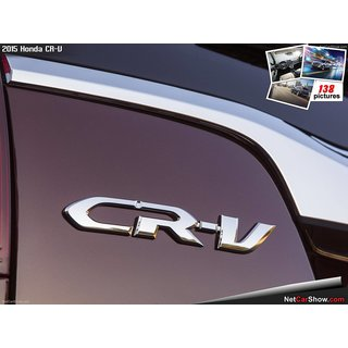 LOGO HONDA CRV MONOGRAM EMBLEM CHROME decal
