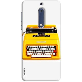 FABTODAY Back Cover for Nokia 5 - Design ID - 0369
