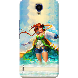 FABTODAY Back Cover for Infinix Note 4 - Design ID - 0358