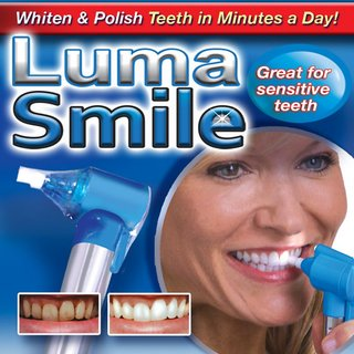 New Luma Smile - Home Tooth Polisher - Removes Stains for long lasting Results