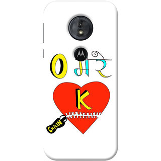 FABTODAY Back Cover for Moto G6 Play - Design ID - 0748