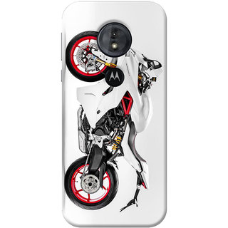 FABTODAY Back Cover for Moto G6 Play - Design ID - 0841