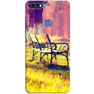 FABTODAY Back Cover for Honor 7C - Design ID - 0033