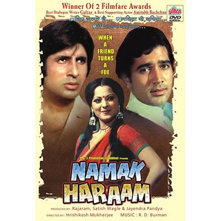 NAMAK HARAAM Hindi Movie 1973 DVD