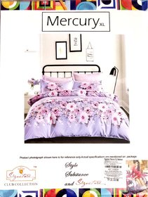 Mercury Double Bedsheet With 2 Pillow Covers