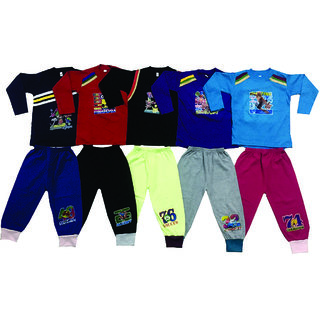Om Shree Boys Full Sleeves With Pant (Pack of 5)