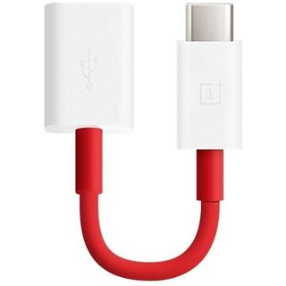 Oxza Type C USB 3.1 Male to USB Female Cable OTG USB Adapter   Red, White