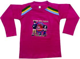 Om Shree Full Sleeves Pattern T-shirt