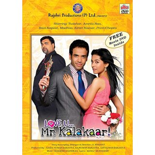 LOVE U Mr. KALAKAAR Hindi Movie 2011 DVD