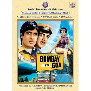 BOMBAY TO GOA Hindi Movie 1972 DVD