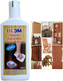 SUPERIOR LIQUID WOODEN POLISH - 200ml.