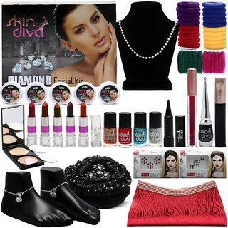 Complete 16 Shringaar of Indian Beauty By Color Diva Pack of 22 GC592-By Adbeni
