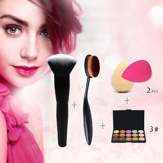 Adbeni Makeup Brushes With Highlighter Concealer Set of 4 GC593
