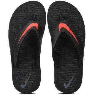 54b61dc2a106f Buy Nike Men s Chroma Thong V Black Flip Flops Online   ₹1395 from ShopClues