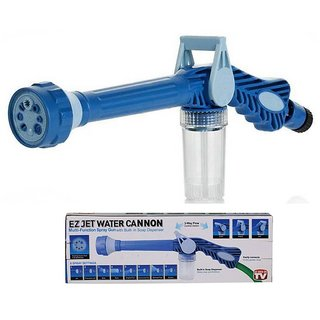 EZ Jet Water Canon 8 in 1 Turbo Water Spray Gun Jet Water Gun Pressure