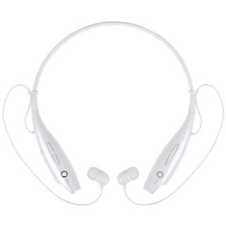 Orenics HBS 730 Wireless Sports Fitness Neckband Bluetooth In the Ear Headset white
