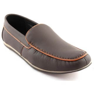 1068f71667a Buy RU SHOES STYLISH COMFORTABLE LEATHER BROWN LOAFER SHOES FOR MEN DAILY  WEAR