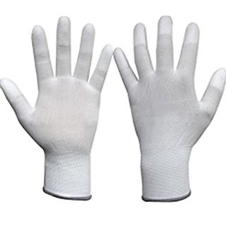 Global Carbon Fiber ESD Anti-Static Gloves PU Fingertip Coated Top fit Non-Slip Wearable Gloves Safety Working Gloves