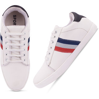 Butchi White Casual Shoes