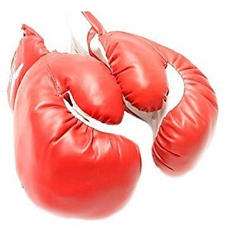 Training Boxing Gloves Foam Based Jerk Free 4 to 12 oz. (8 oz)-Colour Assorted.