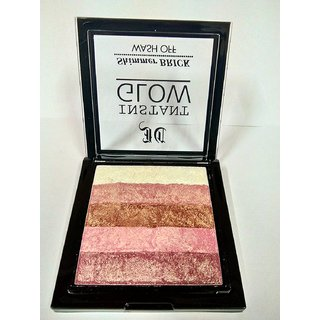 Instant Glow Makeup Highlighter Shimmer Brick-01.With 2 Lip Pencil