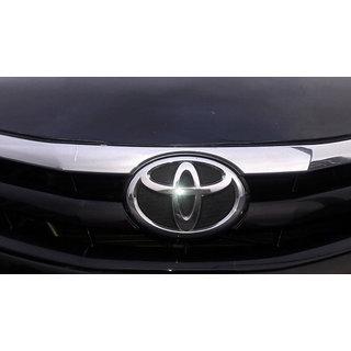 LOGO ETIOS / ETIOS CAR FRONT EMBLEM LIVA MONOGRAM EMBLEM CHROME for Toyota DECAL