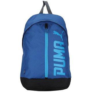 8fa6b4bb7625 Buy Puma Pioneer Cap Blue Laptop Backpack Bag Online - Get 61% Off