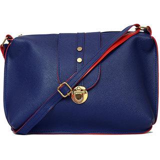 RISH Blue P.U. Sling Bag