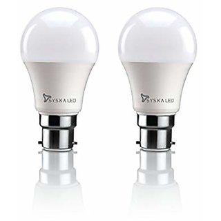 Syska 15W LED Bulb Cool Day Light - Pack of 2