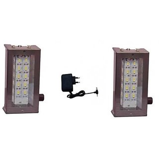 Rechargeable Emergency Home Light 12 LED with charger with charger