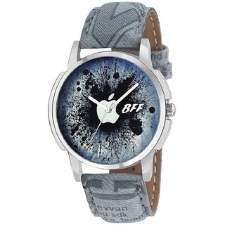BFF Gray Appy Printed Watch