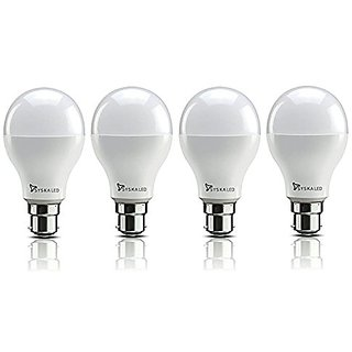 Syska 3W LED Bulb Cool Day Light - Pack of 4