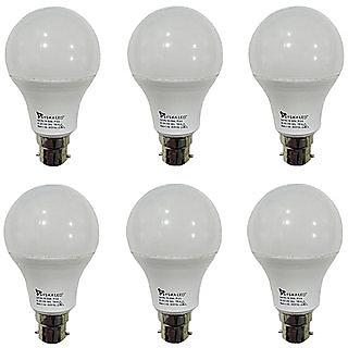 Syska 5W LED Bulb Cool Day Light - Pack of 7