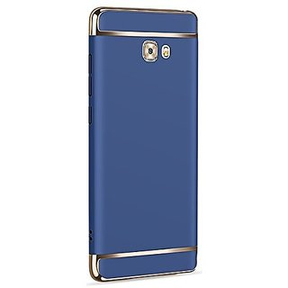 LENIS  Eventual Series Luxury 360 Degree Protection 3in1 Back Cover for Samsung Galaxy J7 Prime ( BLUE